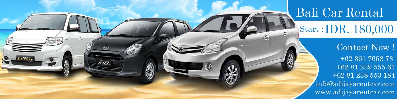 Rental Car In Bali Start Idr 180 000 24 Hours Adi Jaya